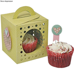 SIZZIX THINLITS PLUS SET- BOX, CUPCAKE