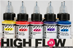High Flow Transparent Set 30ml (10 colori )