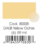 AMERICANA ML. 59  DA 08 YELLOW OCHRE