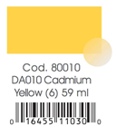 AMERICANA ML. 59  DA 10 CADMIUM YELLOW