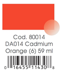 AMERICANA ML. 59  DA 14 CADMIUM ORANGE
