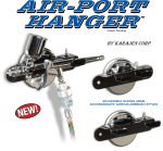 AIR-PORT HANGER MAGNETIC / BOLT-ON