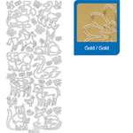Sticker ANIMALI oro 829/O