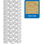 Sticker BORDATURE NATALE oro     980/O