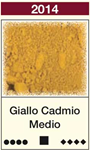 Pigmento Giallo Cadmio Medio  25 ml