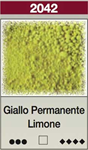 Pigmento Giallo Permanente Limone  25 ml