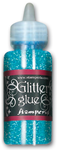 Glitter glue 40 ml. - Acqua marina